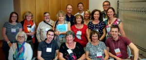 Some of the Australian and New Zealand Conference delegates